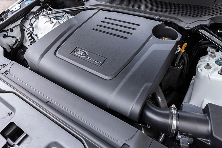Land Rover Discovery – Engine