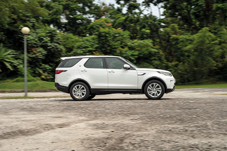 Land Rover Discovery – Ride & Handling