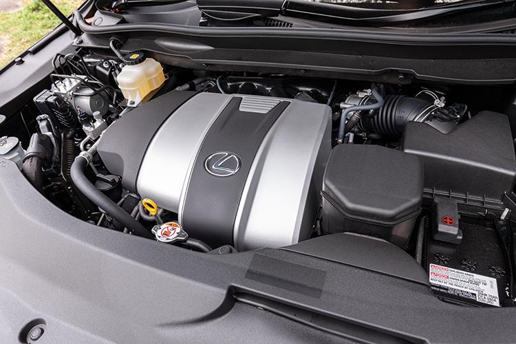 Lexus RX350L – Engine