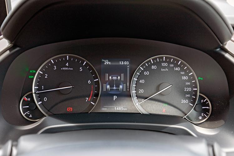 Lexus RX350L – Meters