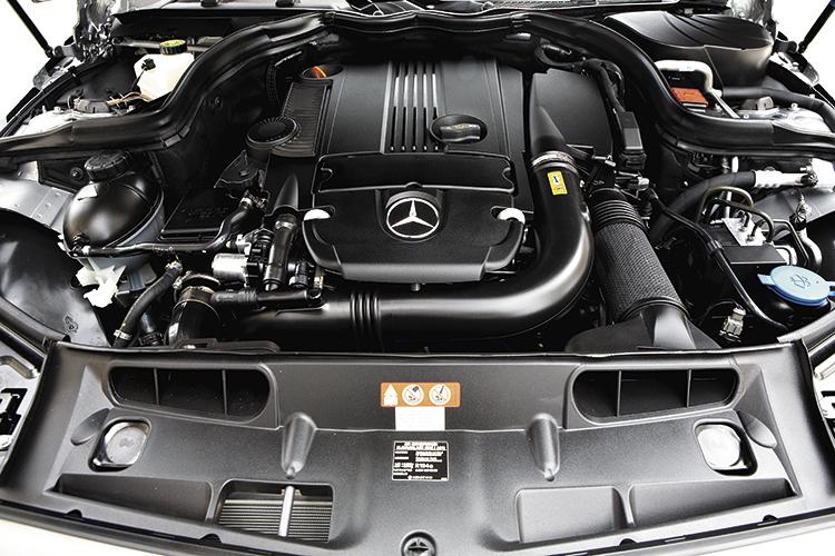 mercedes-benz c180 engine