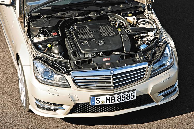 mercedes-benz c-class c350 engine