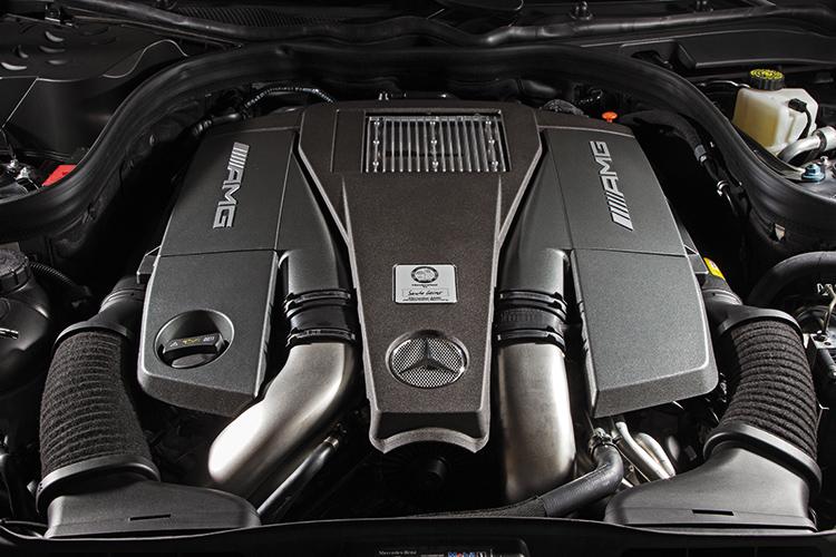 mercedes-benz cls63 amg engine