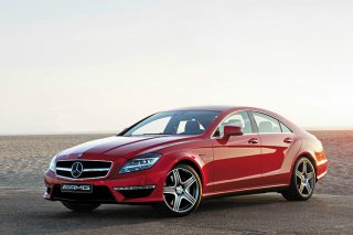 mercedes-benz cls63 amg front angle