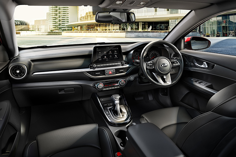 New Kia Cerato – Interior