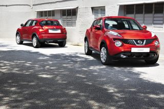 nissan juke turbo front and rear