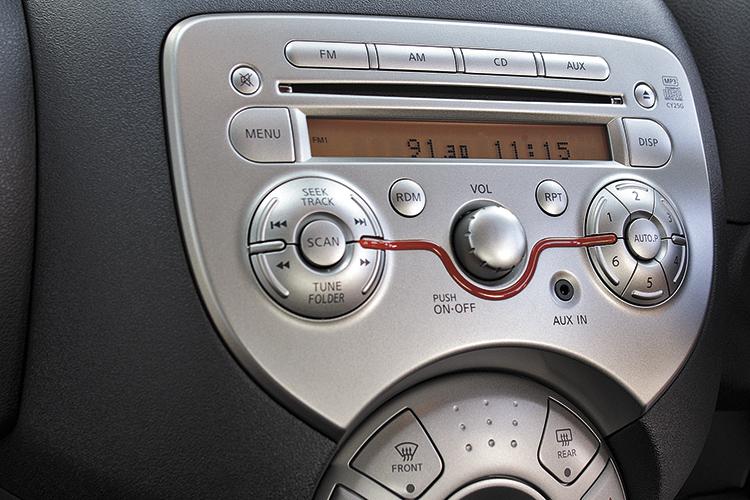 nissan march hi-fi system