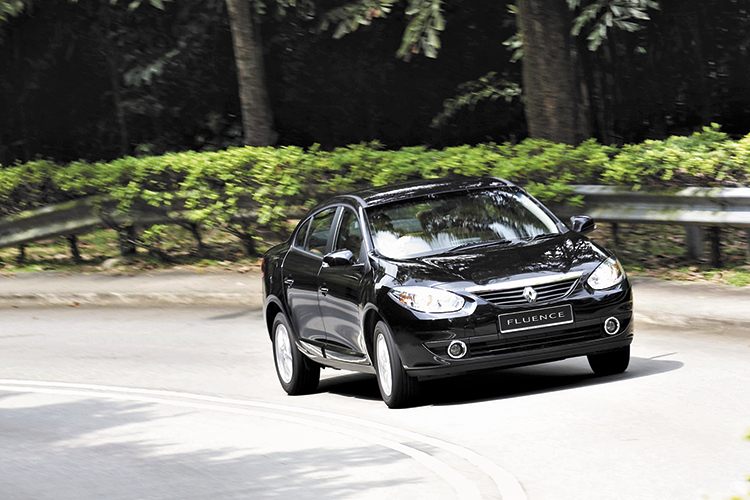 renault fluence main