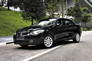 renault fluence static front