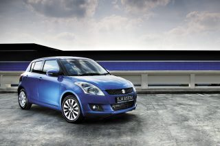 suzuki swift front static
