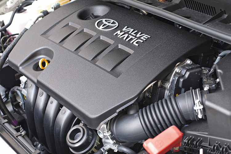 The Toyota Wish now comes with a smaller, more efficient 1 8-litre
