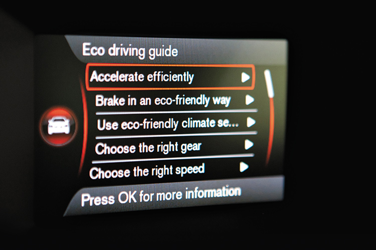 volvo v60 t4 eco driving guide
