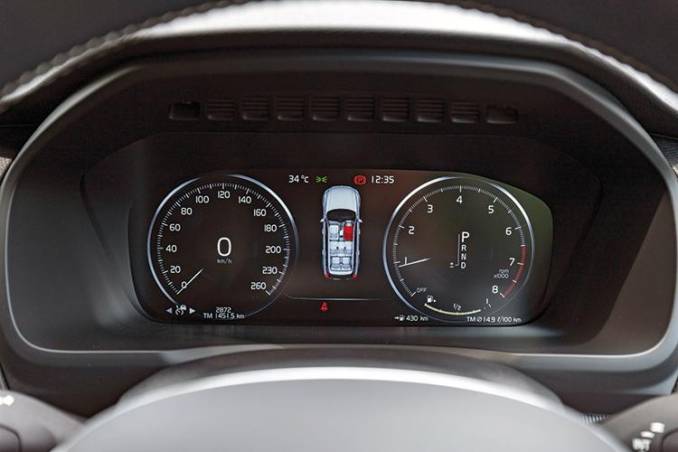 Volvo XC90 – Meters