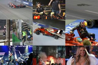 The Singapore F1 Grand Prix has been a motorsport mainstay for a whopping 11 years, and as we rev up for the night race this year, we check out the most noteworthy moments that have marked the Marina Bay Street Circuit, on and off the track.