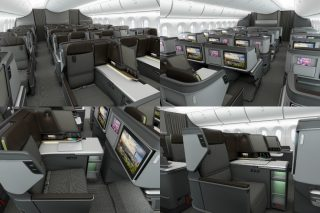 Showcased on the Taiwanese airline's Boeing 787-9 Dreamliner, the new business class seat's design language focuses on professional air travellers seeking a productive yet relaxing environment aboard the aircraft.