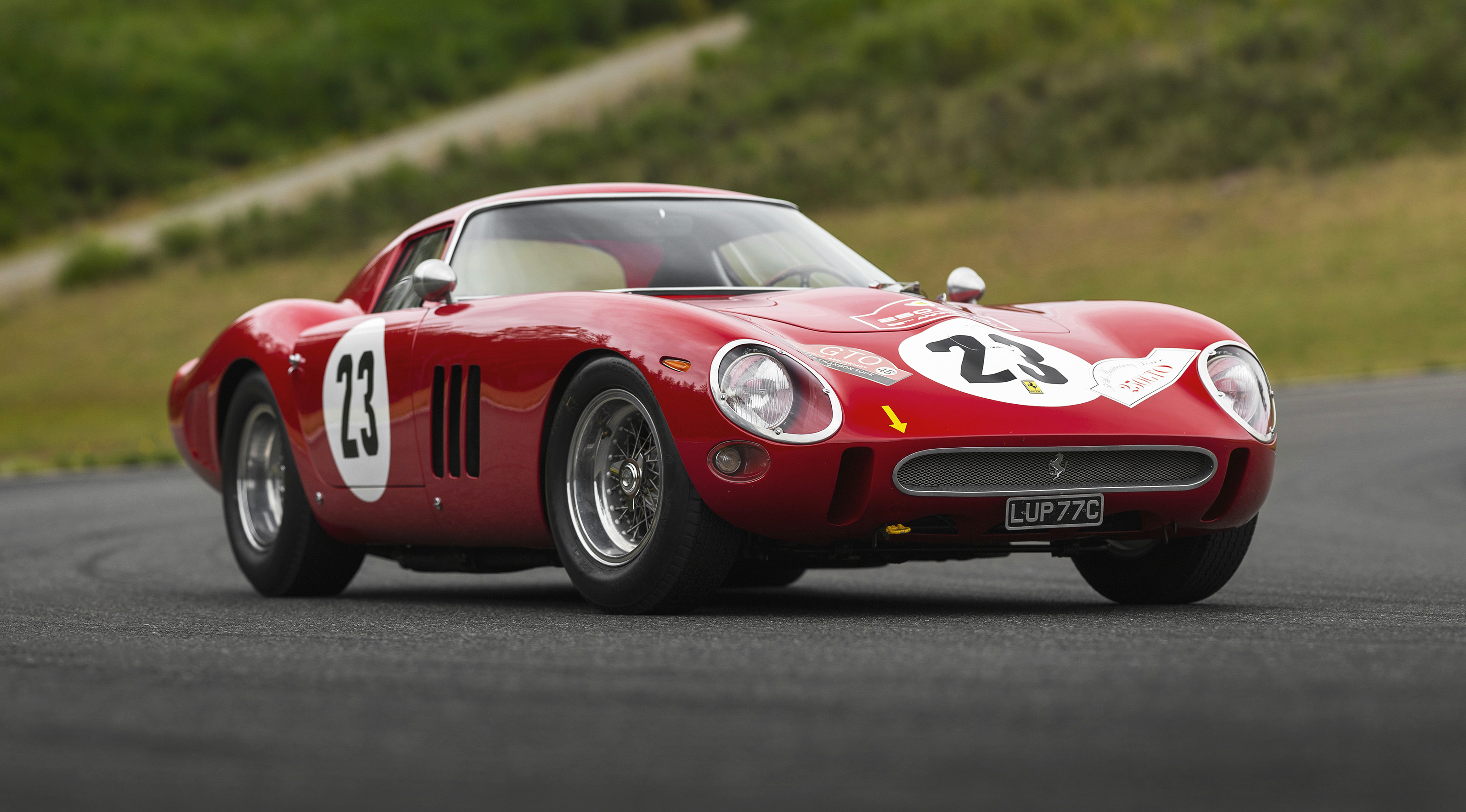 A 1962 Ferrari 250 GTO that was bid to US$48,405,000 at the RM Sotheby's sale in Monterey, California has become the most valuable car ever sold at public auction, beating the previous record auction price of US$38,115,000 for a 250 GTO.