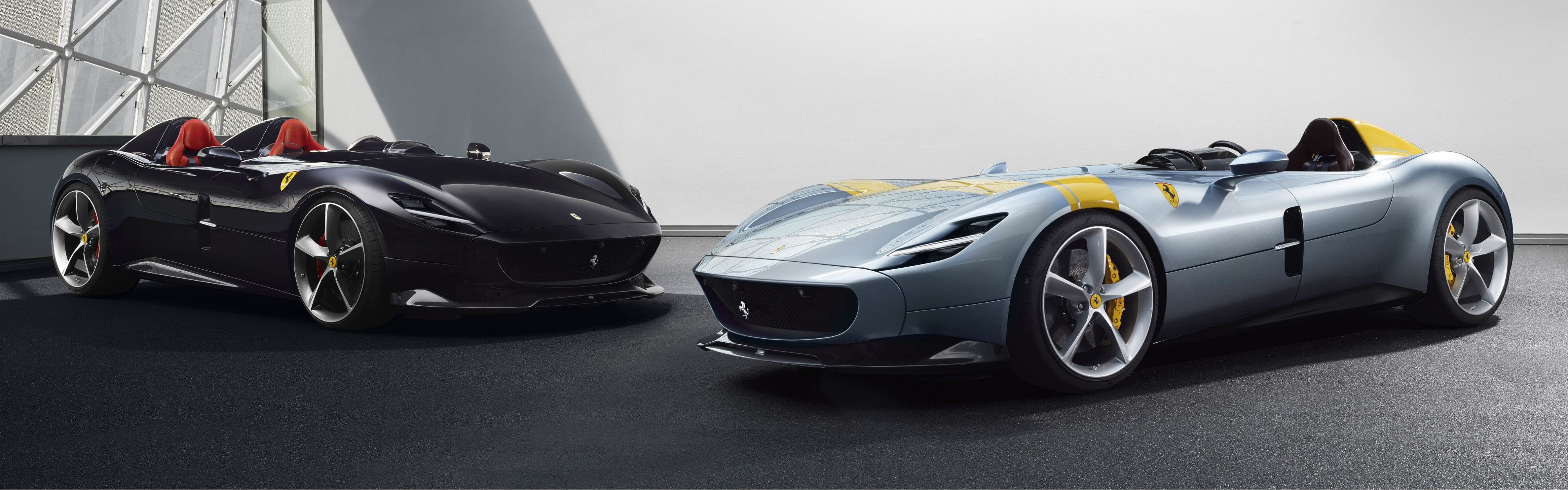 The Monza SP1 and Monza SP2 are the first models in Ferrari's new limited-edition special series called 'Icone', which features iconic cars whose sophisticated design and engineering are inspired by legendary Ferrari sports racers of the past.