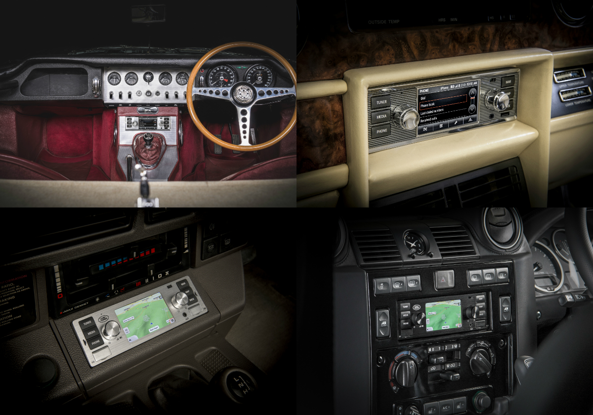 Jaguar Land Rover Classic Brings Modern Infotainment To Cars Classical Telephone Hybrid Circuit