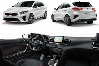 Designed, developed, engineered and built by Kia in Europe, the new Ceed GT sports a powerful 1.6-litre T-GDi engine with 204hp, 265Nm and a choice of 6-speed manual or 7-speed dual-clutch transmission.