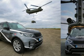 The partnership comes in a year of major anniversaries for both proudly British brands, with Land Rover celebrating its 70th anniversary and the Royal Air Force celebrating its centenary.