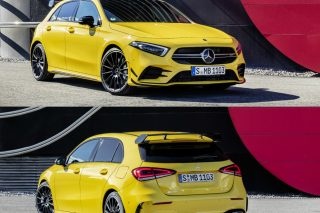 The entry-level Mercedes-AMG model is based on the latest Mercedes-Benz A-Class platform and powered by a newly developed 2-litre 4-cylinder turbo engine with output of 306hp and 400Nm, and 0-100km/h in 4.7 seconds.