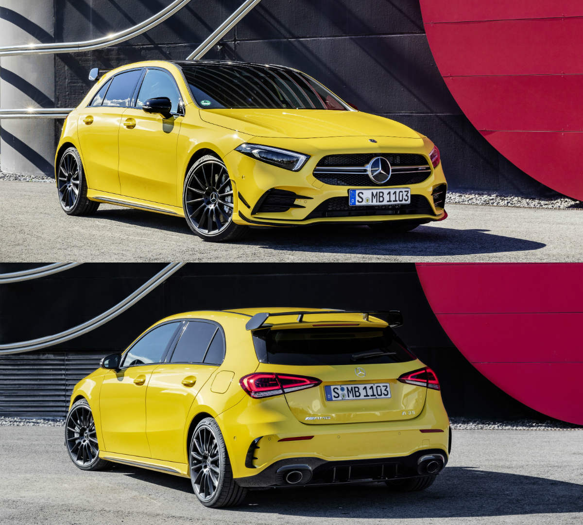 Mercedes-AMG A35 Is New German Hot Hatch With 306hp And 400Nm