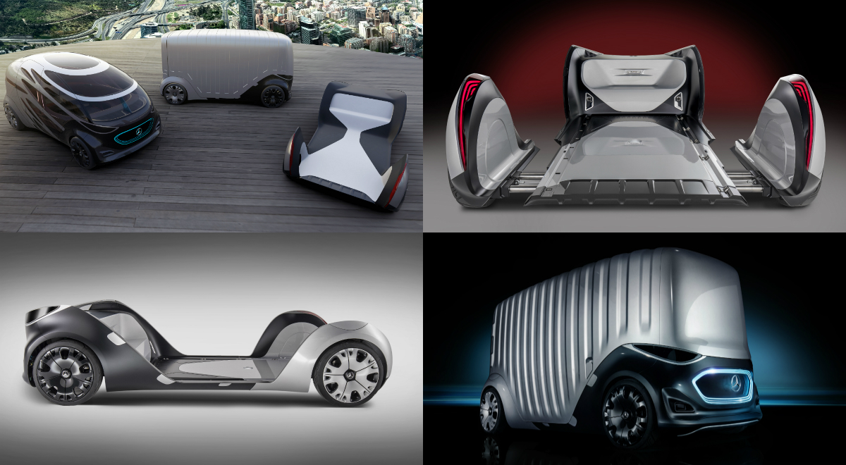 Mercedes Benz Vans Presents Its Vision Urbanetic Mobility Concept