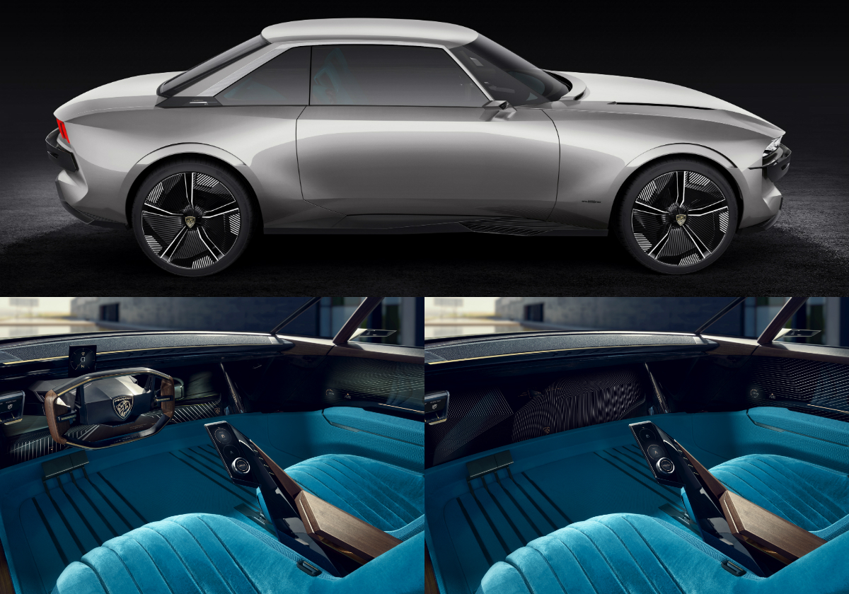 peugeot unveils its vision of future mobility with e