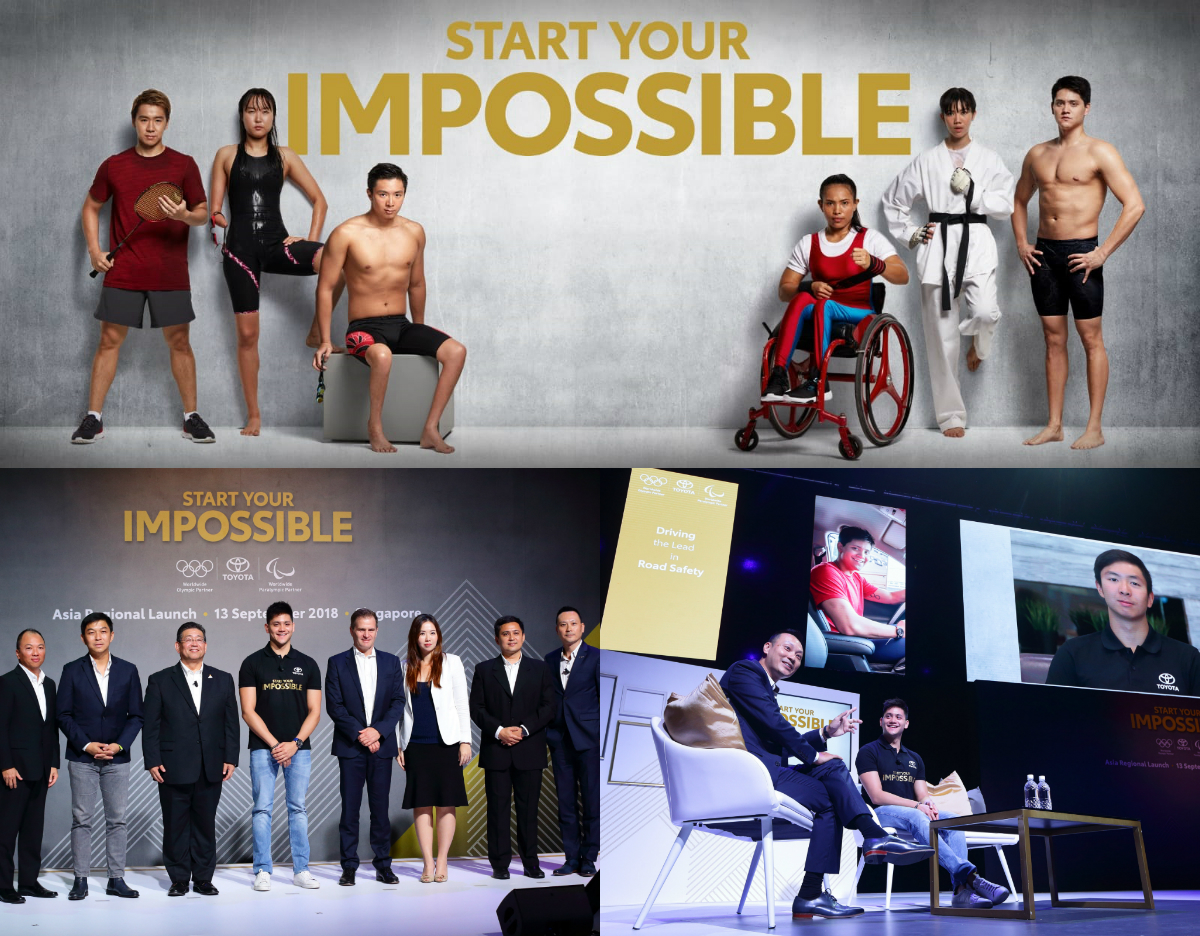 Toyota Rolls Out Quot Start Your Impossible Quot Global Corporate