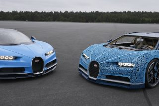 Pushing the boundaries of imagination and creative reinvention, Lego has built for real this non-glued, fully functional and self-propelled Lego Technic Bugatti Chiron, which can fit two people inside and accelerate to over 20km/h.