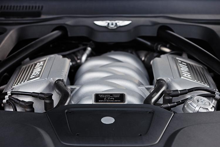bentley mulsanne engine