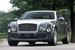 bentley mulsanne front