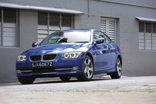 bmw 320i coupe front