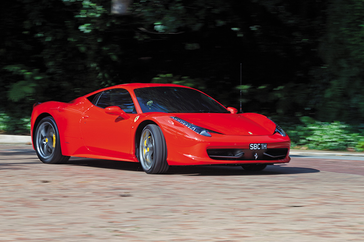 ferrari 458 italia driving