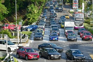 fewer traffic jams in singapore with use of artificial intelligence