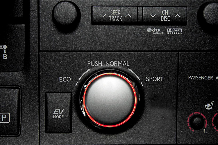lexus ct200h driving modes