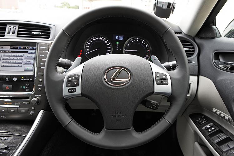 lexus is250 cockpit
