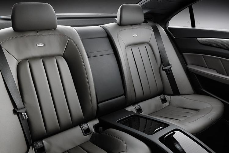 mercedes-benz cls backseat