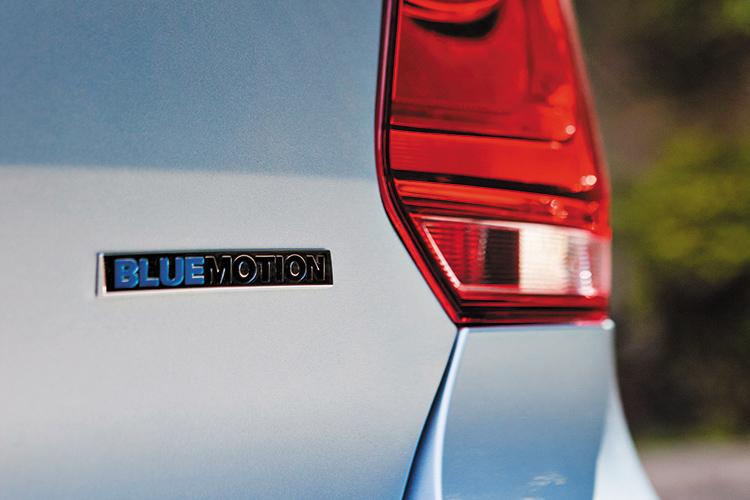 volkswagen polo bluemotion badge