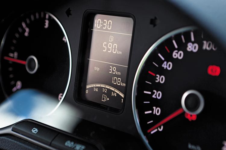 volkswagen polo bluemotion trip meter