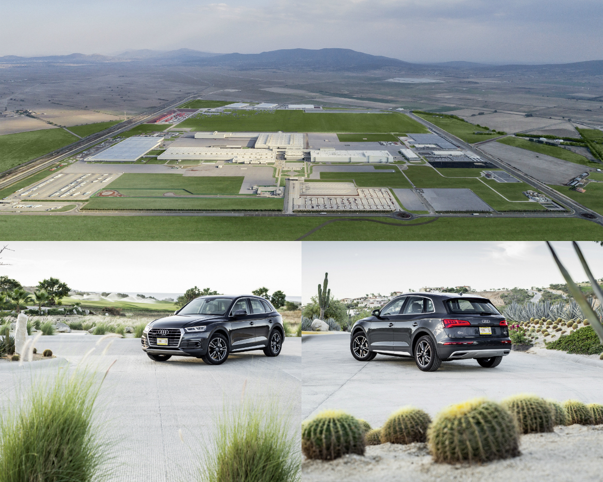Audi Mexico Plant Produces Cars Completely Without Wastewater - Audi mexico