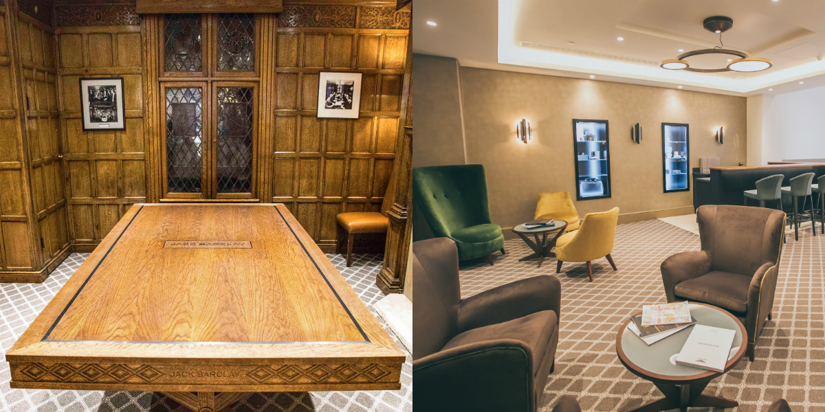 The luxurious new hand-crafted oak table, incorporating a number of bespoke Bentley touches, is a crucial part of a multi-million-pound renovation of Jack Barclay, embarking on a new era for the 91-year-old dealership.