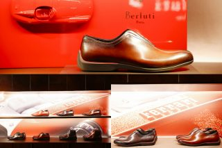 Maranello's collaboration with Berluti has produced the Ferrari Limited Edition footwear collection inspired by the Prancing Horse's latest models, the Ferrari Monza SP1 and Monza SP2.