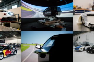 Innovative new research and development technology that helps make Ford racecars faster around the track also is speeding Ford's product development times, with breakthroughs that include an all-new 3D racing simulator and a state-of-the-art production vehicle simulator.