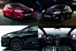 The two new head-turning contrast colour schemes help Fiesta ST-Line customers in Europe to stand out from the supermini crowd.