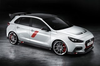 The Hyundai i30 N 'N Option' show car showcases 25 different high-quality exterior and interior individualisation options, providing a large amount of customisation features under the N performance brand to driving enthusiasts.