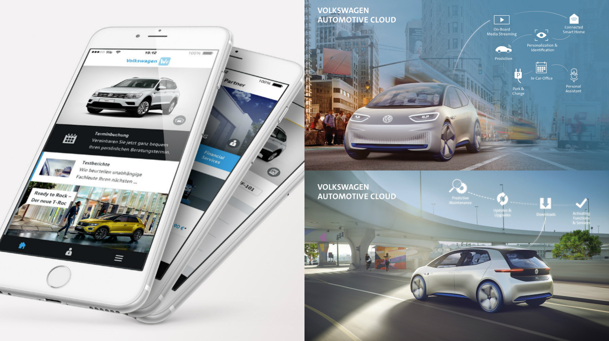 The collaboration will accelerate Volkswagen's digital transformation, with the Microsoft Azure platform adopted as the foundation for the Volkswagen Automotive Cloud and connected car services for the VW fleet.