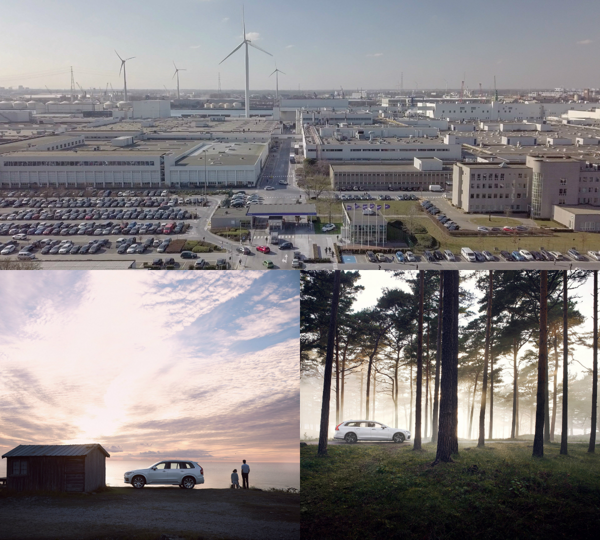 The Swedish automaker has, for the first time, introduced solar energy into its global manufacturing operations, with the installation of 15,000 solar panels at its car factory in Ghent, Belgium.