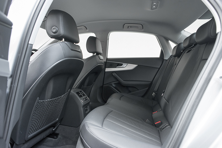 audi a4 backseat
