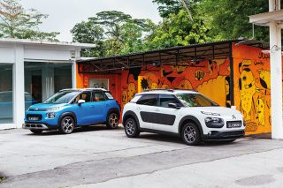 citroen c3 aircross and c4 cactus